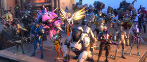 All Overwatch Characters by PlanK-69