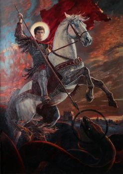 George the Victorious. 2014 by Vladimir-Kireev