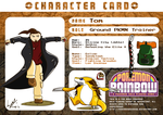 Trainer Card 'Tom and Eolian' -REVAMP- by Retro-Death