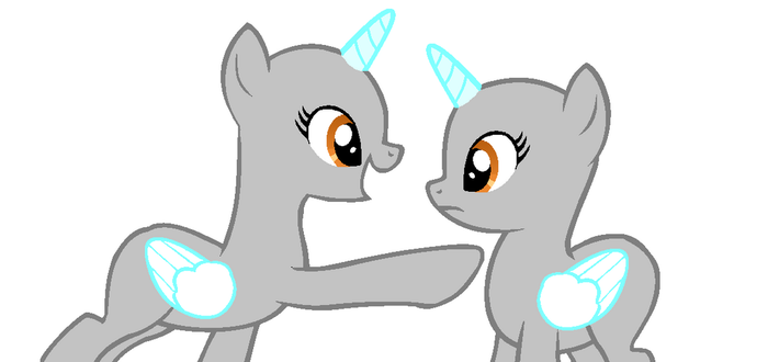 I'm pointing! MLP Base by lost441441