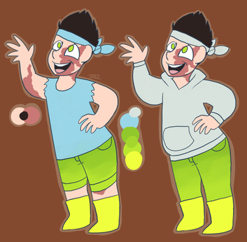 Chase's twin brother ref by FoamyStar