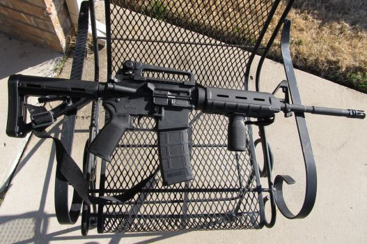 Bushmaster M4A3 with Magpul MOE Furniture by Xanionot