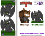 How to Train Your Dragon 2 Toothless puppet by SKGaleana