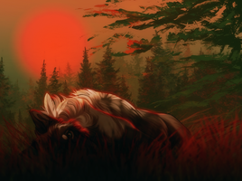 [ych] Burning lights by defineDEAD