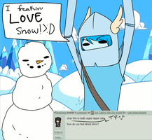 Question: Snow by ask-theskyknight