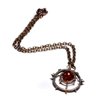 Steampunk Necklace Relic 1 by CatherinetteRings