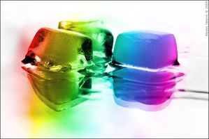 Melting Rainbow by Frider