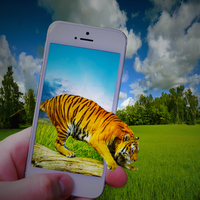 Iphonetiger by FreezeDude