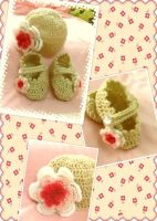 Baby hat and shoes set by AChiBuu