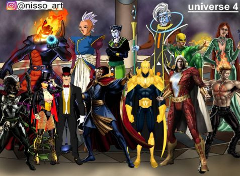 universe 4 all mystic warriors by nissimaharonov