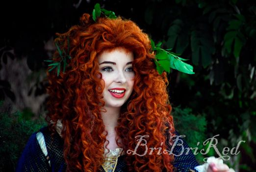 Princess Merida by BriBriRed
