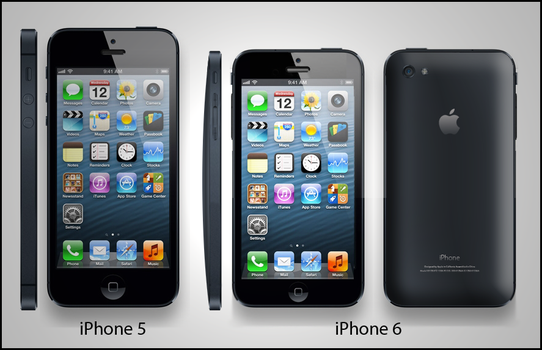 iPhone 6 Concept by Terror-Inferno