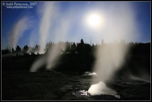Land of Geysers by juddpatterson