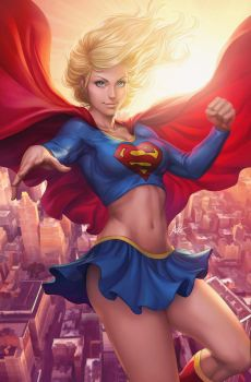 Supergirl Sky by Artgerm