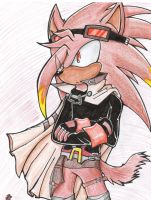 Vulcan the Hedgehog by Sparky2hot4ya