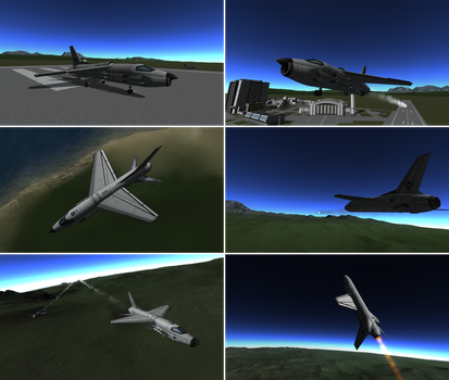 Random KSP 45 - Accedently F-8 Edition by ScarletLightning565