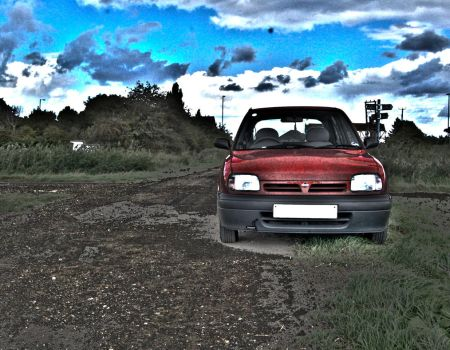 Nissan Micra HDR v.1 by SomethingsFallApart