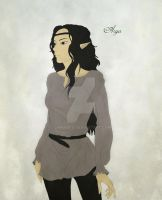 Arya from Eragon by GamaDes