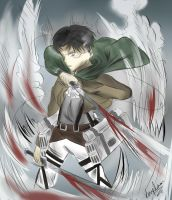 Levi (Rivaille) by CherryQEXE123
