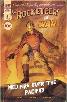 Rocketeer-at-war-fake cover by StephaneRoux