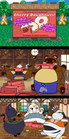 Animal Crossing - Cherrywood Donuts by Mothman64