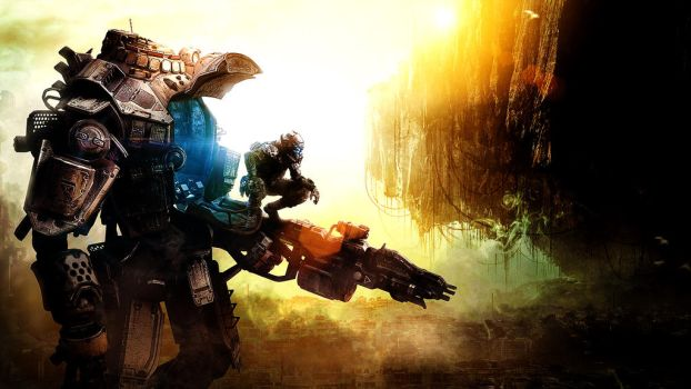 Titanfall Background by NlGHTWOLF
