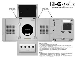 Paper Model-GameCube Silver by KnightRanger