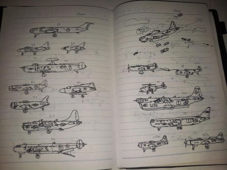 My Aircraft Design Collage by Enrico1946