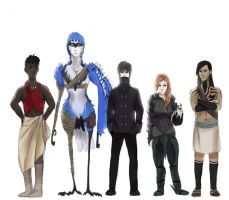 aToD - Protagonists (now) by VolatileFortune