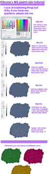 MS paint rain tutorial by raykotaluver