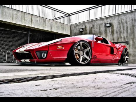 Ford GT LibertyWalk BodyWorks by Faik05