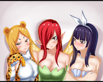 Happy Halloween! - Fairy Tail Edition by NuclearAgent