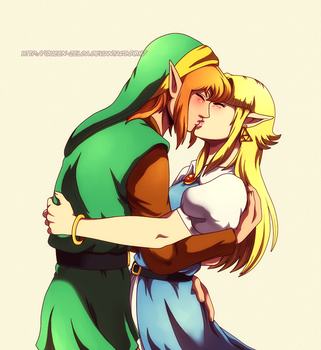 Thanks for rescuing me by Queen-Zelda