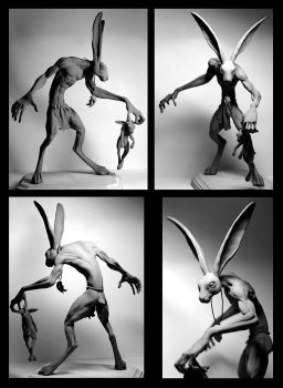 The Black Rabbit: Unpainted by rgyoung