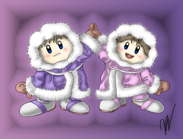 Ice Climbers by EmilyKiwi