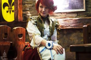 Witcher 3 shani cosplay