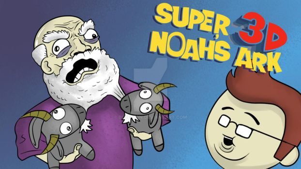 Super 3D Noah's Ark Cover by blue-von