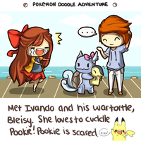 Second Place   Cuddles Pookie by Zel-Duh