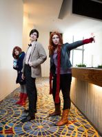 Amy Pond- Wait, what's that? by moonflower-lights