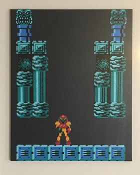 Metroid game opening. by DOAruss