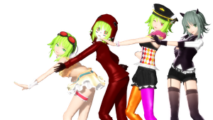 MMD DT new Gumis by willianbrasil