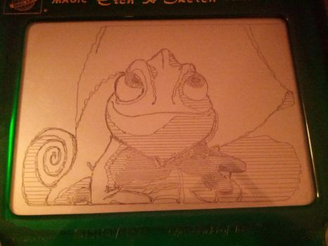 Etch A Sketch Pascal by theangrybuddha