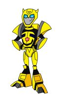 Cybetronian Bumblebee by AleximusPrime