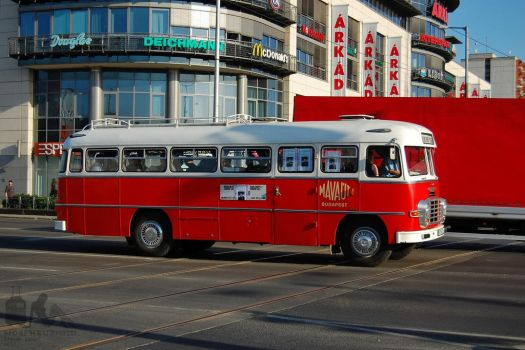 Ikarus 311 Nostalgia bus in Budapest by morpheus880223