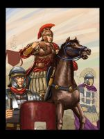 Roman Legion by Maqiangk