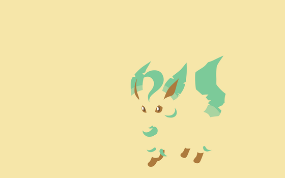 Mineon 470 Leafeon by Senzune