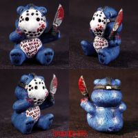 Killer Care Bear Jason V by Undead-Art