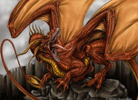RED DRAGON by beastofoblivion