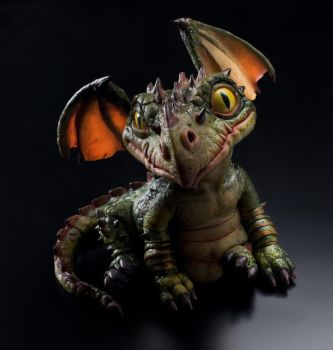 Rufus The little dragon by giuliogolinelli