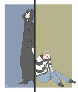 Johnlock: Come Clean by SakiRee